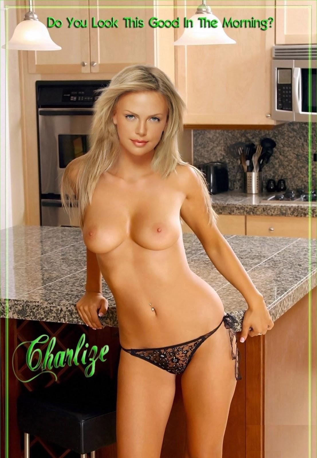 Charlize theron nude com