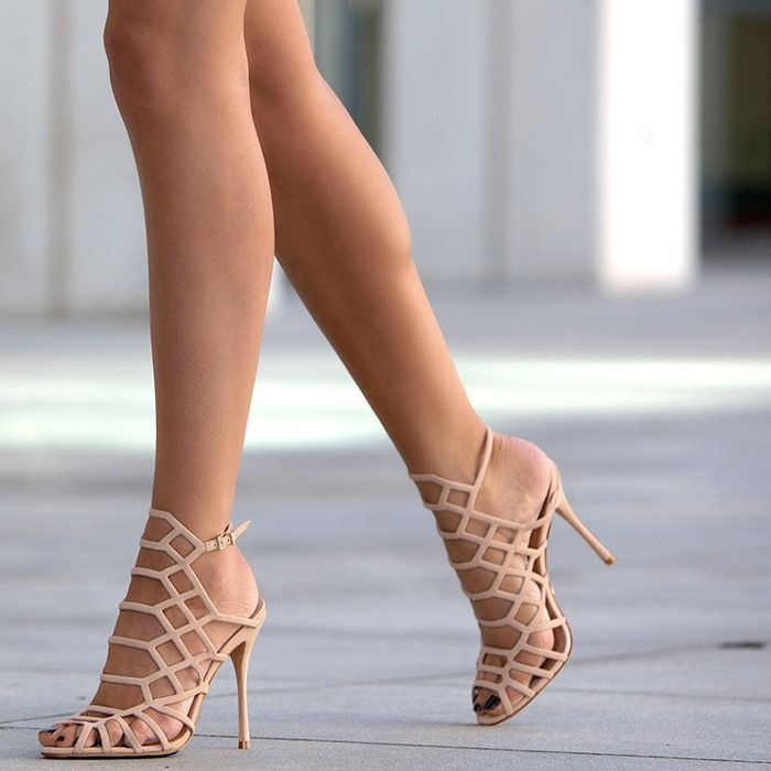 Sexy naked women high heels