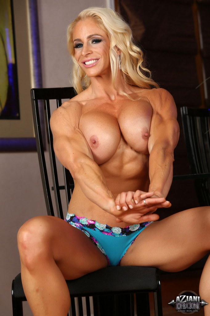 Hot female bodybuilders with big boobs