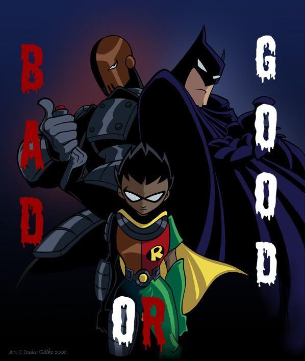 Raven teen titans batman comic