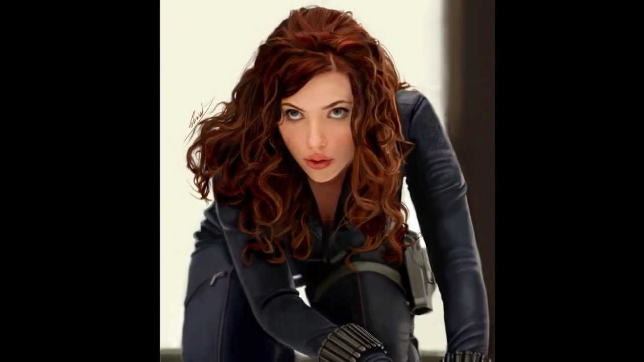 Scarlett johansson as black widow naked