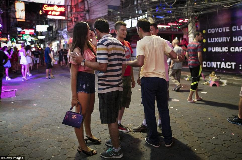 Thai bar prostitute