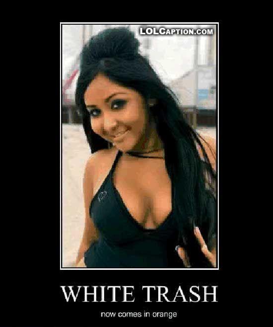 Ugly white trash girl nude