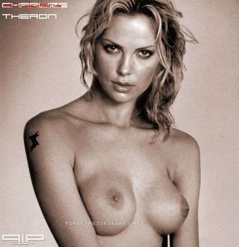 nude Charlize theron