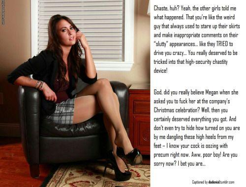 denial Lingerie chastity stockings feet tease