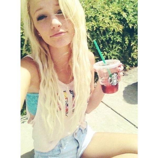 blonde selfie Young teen