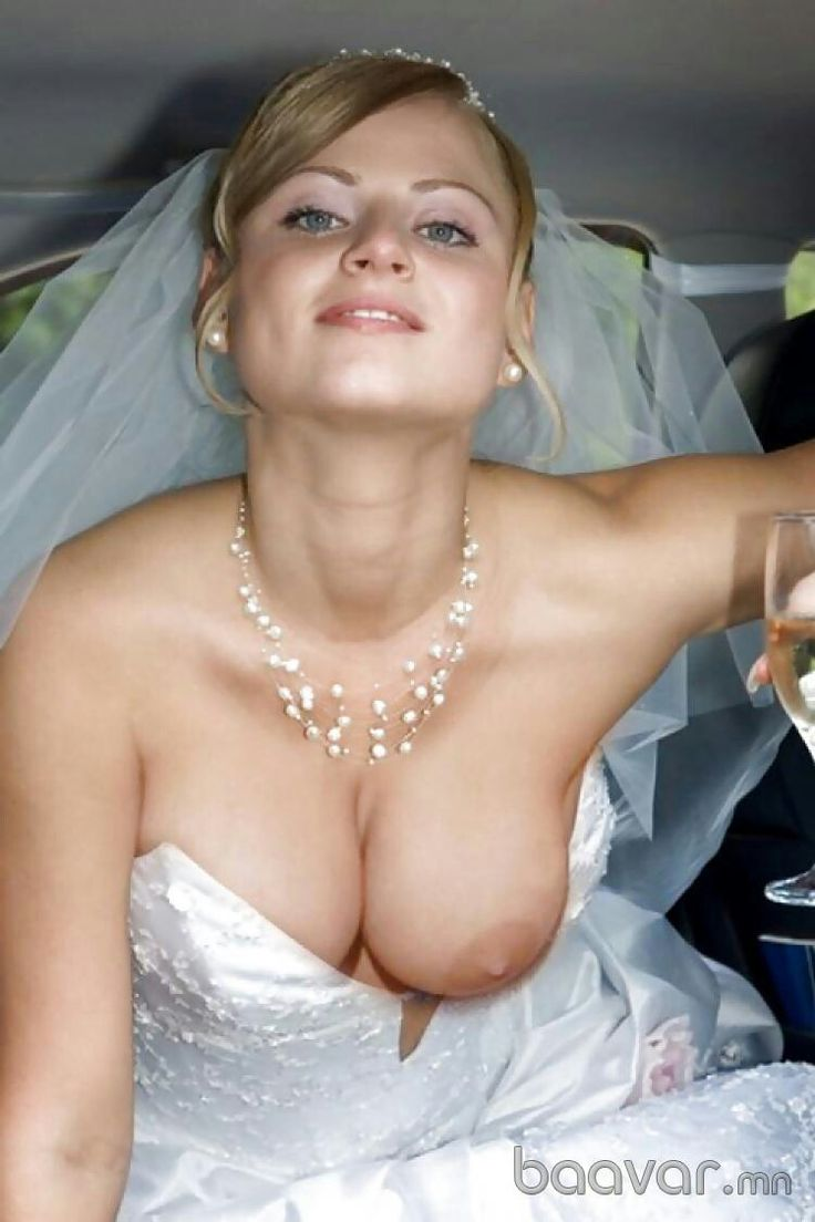 sexy brides nude Naked