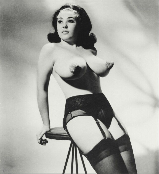 Vintage nude burlesque porn