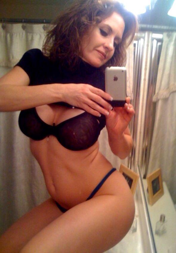 Wife lingerie selfie