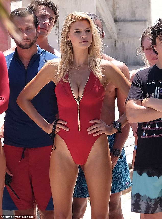 Naked girls of baywatch