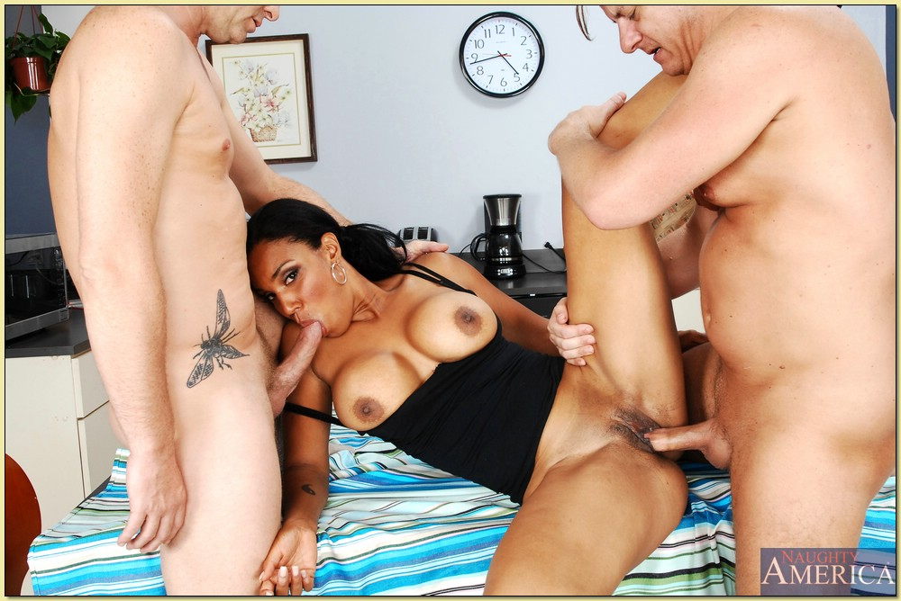 Hot group sex action