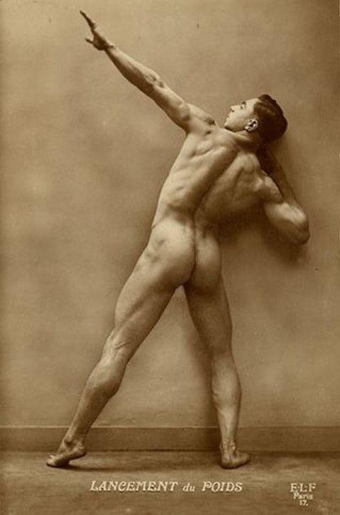 victorian nudes Vintage male