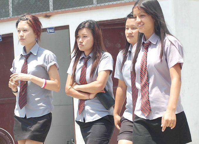 Nepali college girls