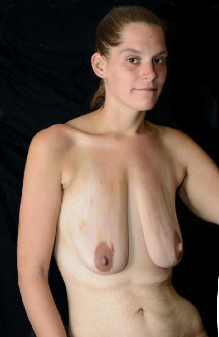 Empty saggy tits real