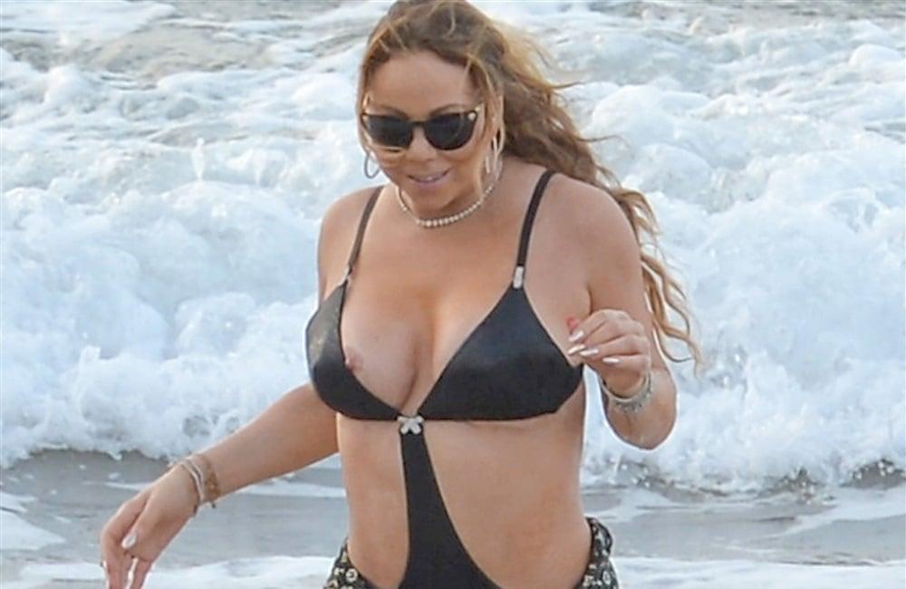 Mariah carey naked tits