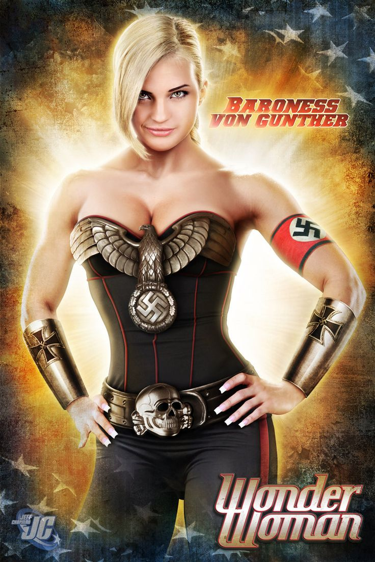 Blonde nazi girl