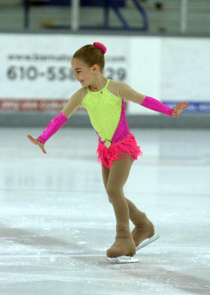 Nude figure skaters