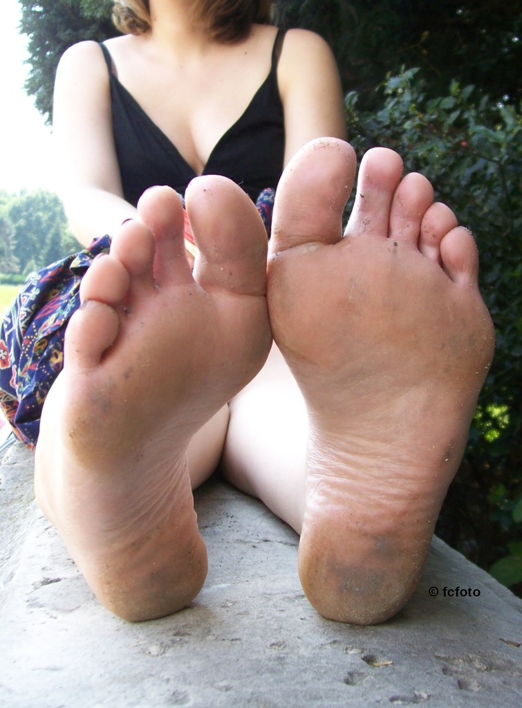 Dirty feet soles ass