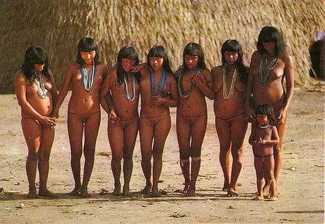 Brazilian tribal girls nude
