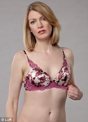 Big boobs in tight bra