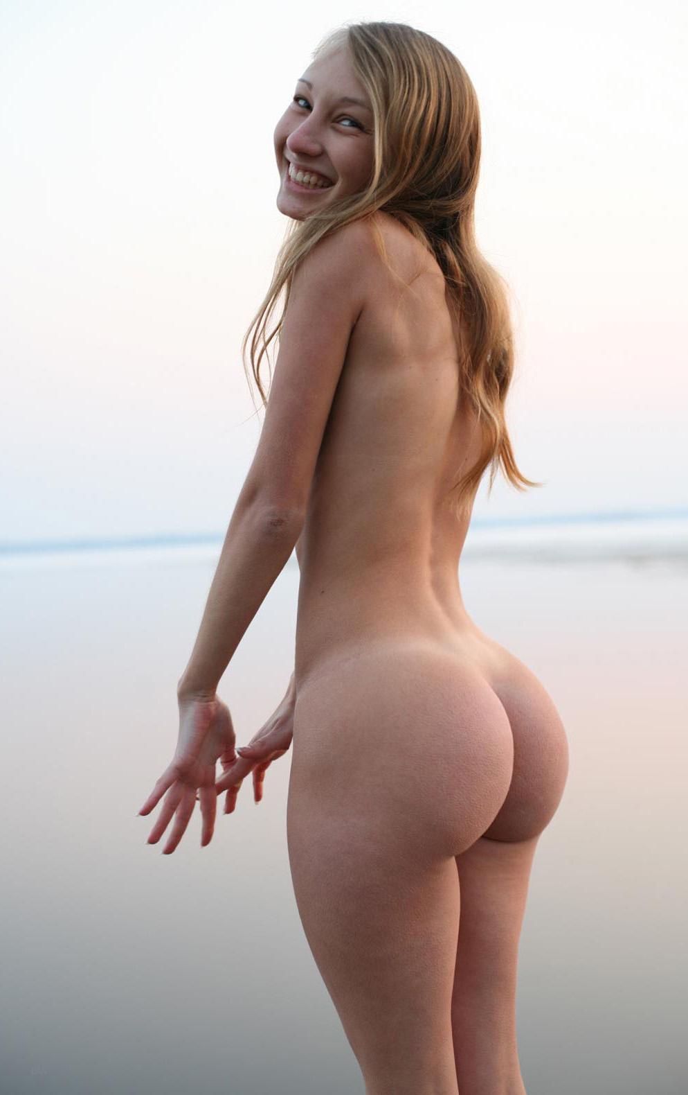 Nude skinny girls ass