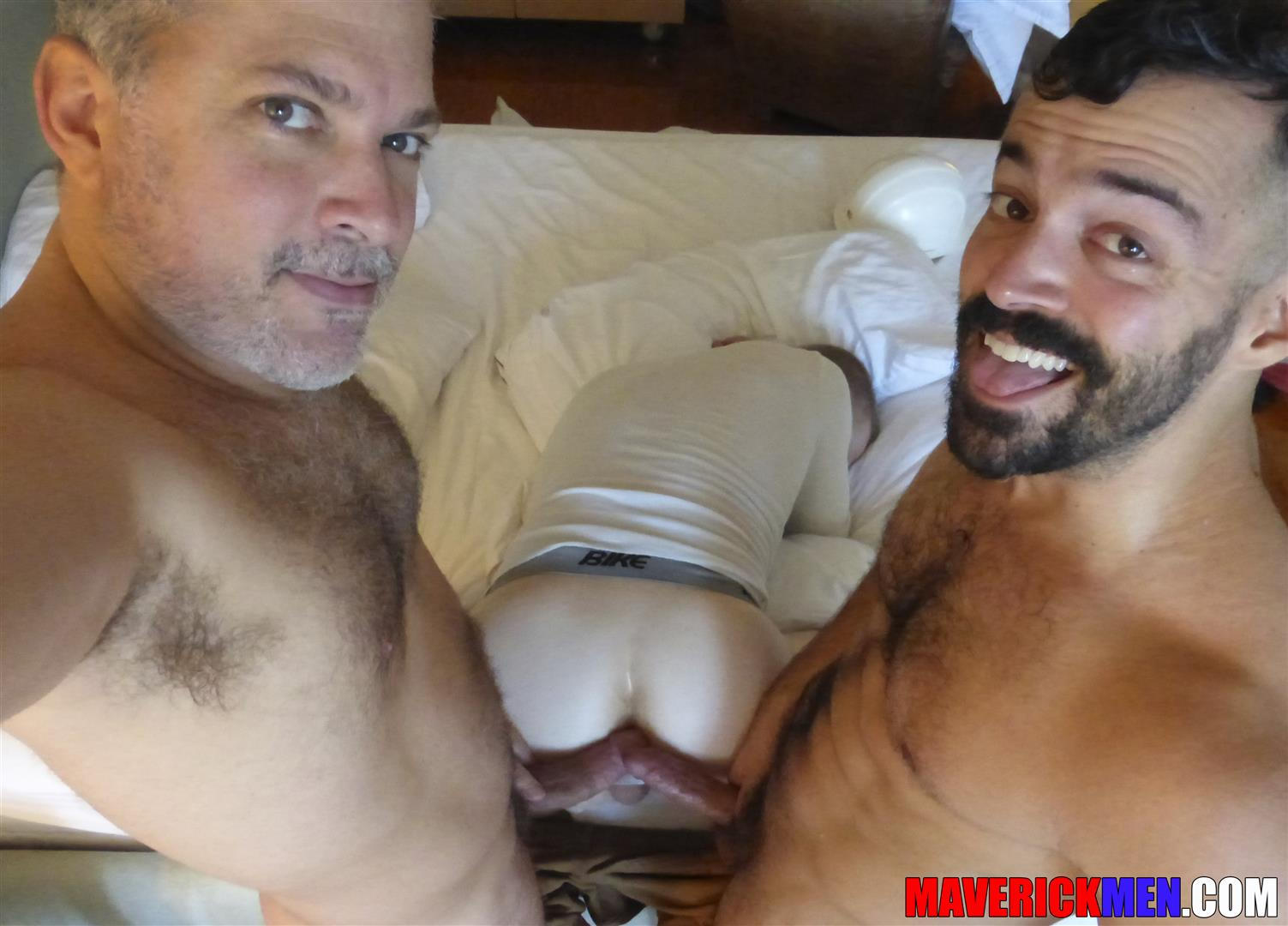 Gay porn hairy maverick men