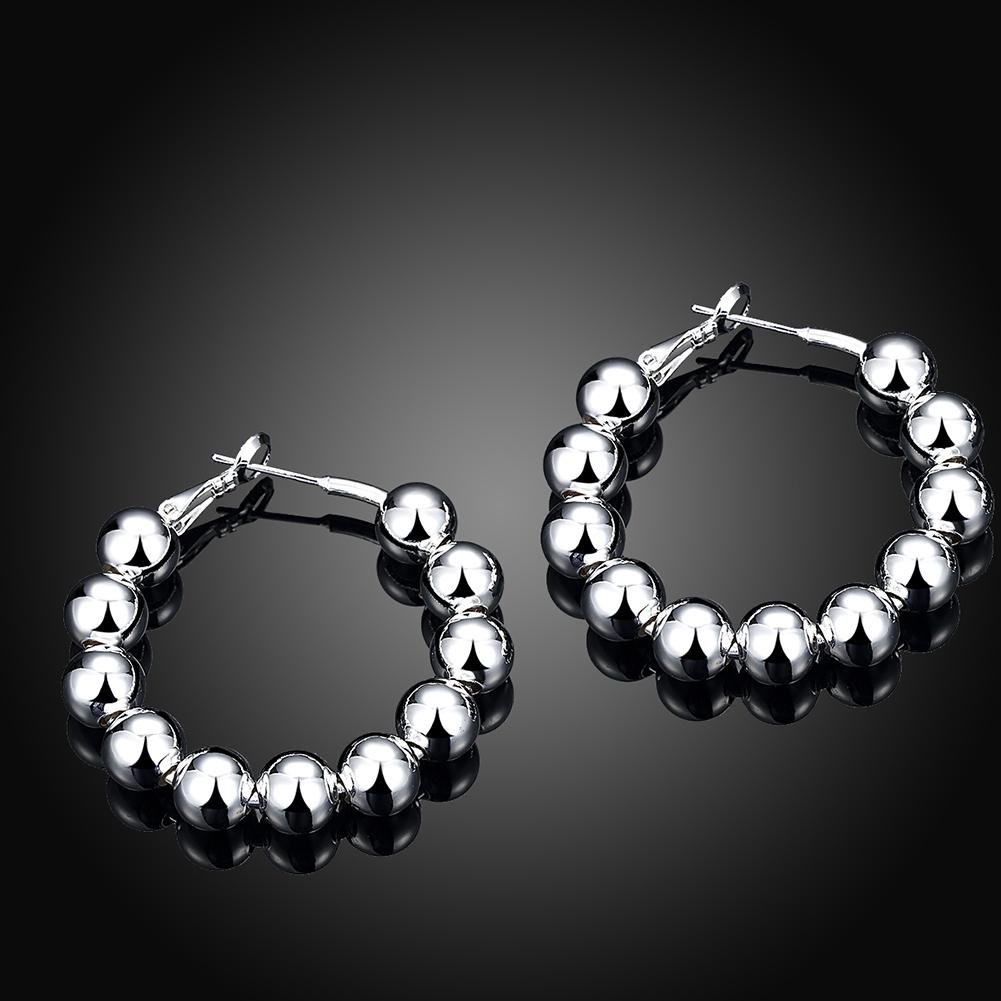 Ann angel hoop earrings
