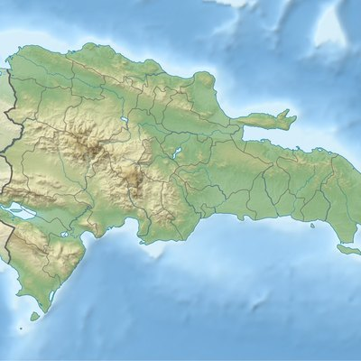 Dominican republic landforms