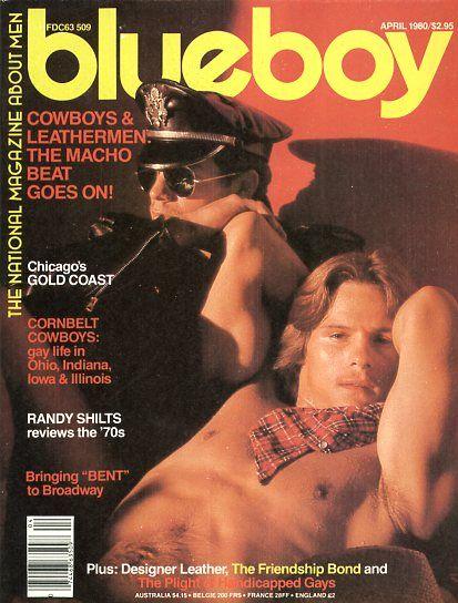 Retro gay porn blue boy magazine