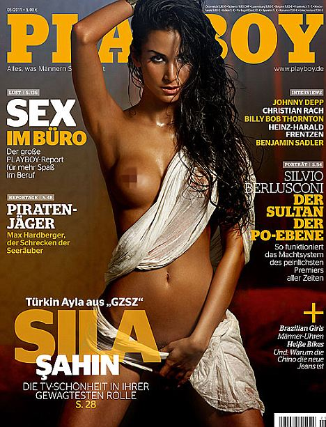 Sila sahin playboy cover