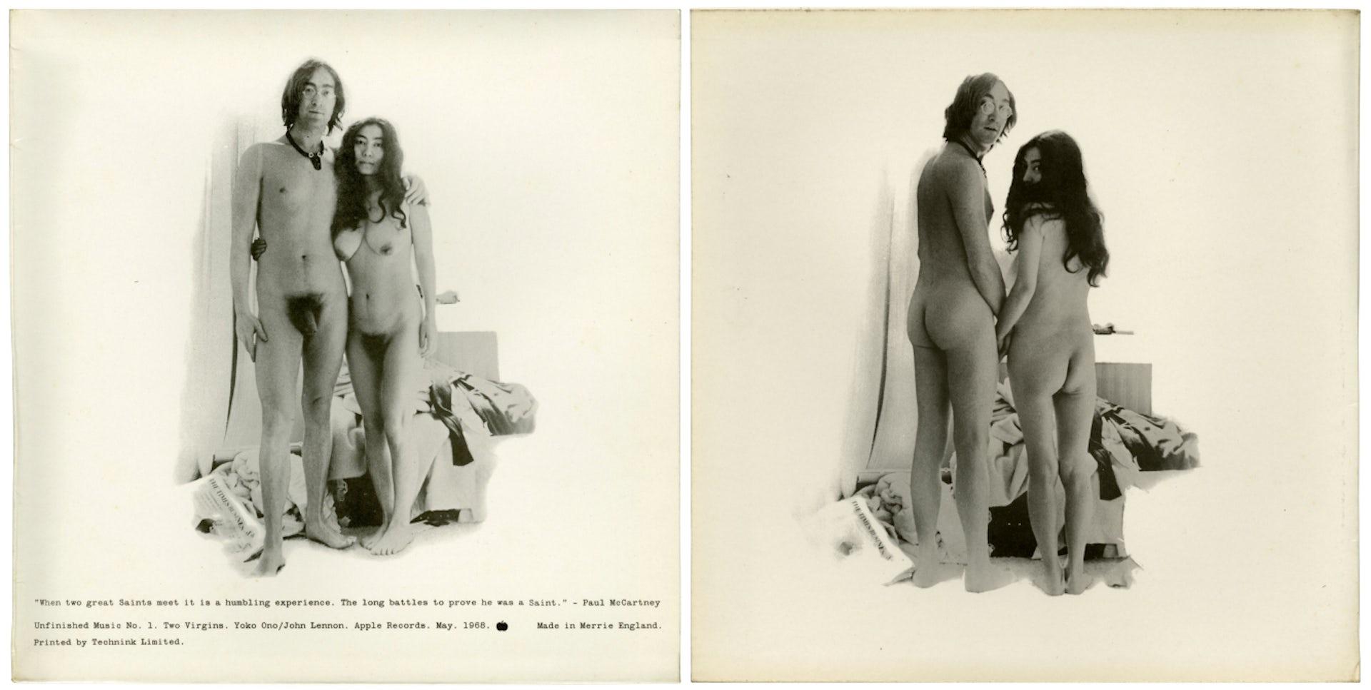 John lennon and yoko ono naked