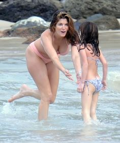 Stephanie seymour and son bikini