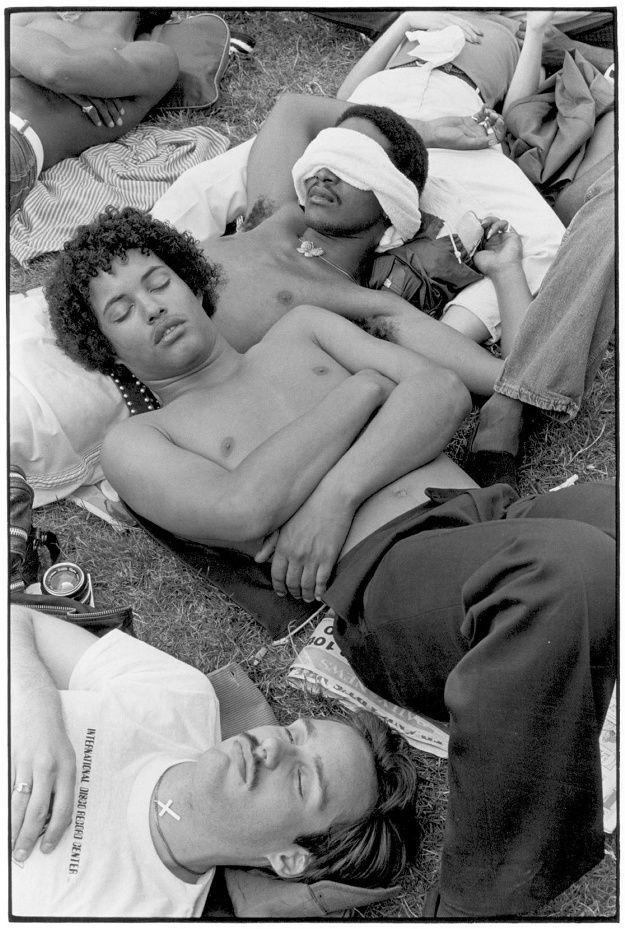 Sleeping gay boys