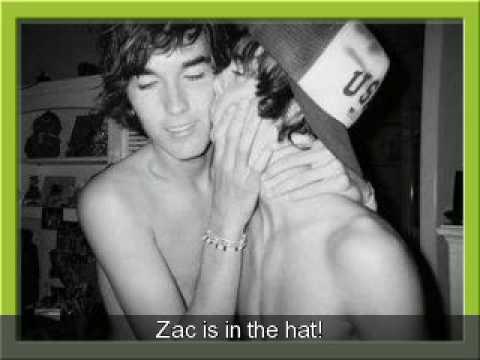 efron kiss Zac gay