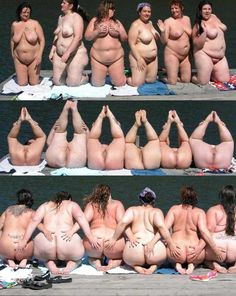Group nude bbw women