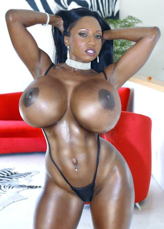 Huge tits black girls big boobs