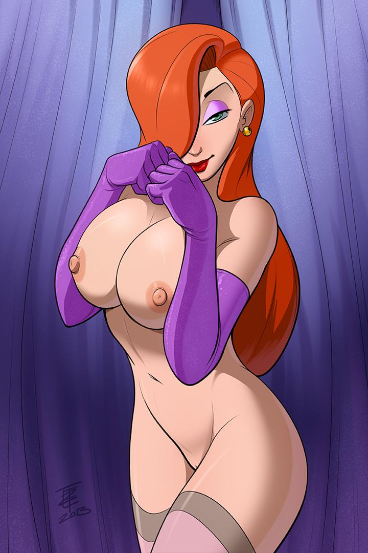 Cartoon jessica rabbit naked