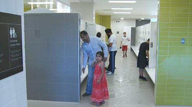 coed locker room Teen