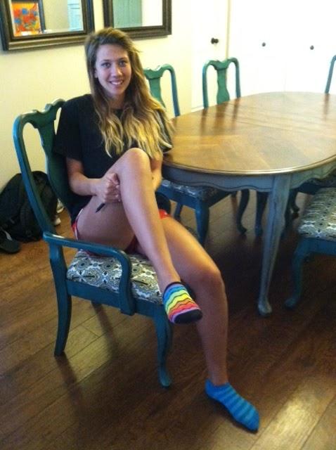 Cute teens girls wearing socks