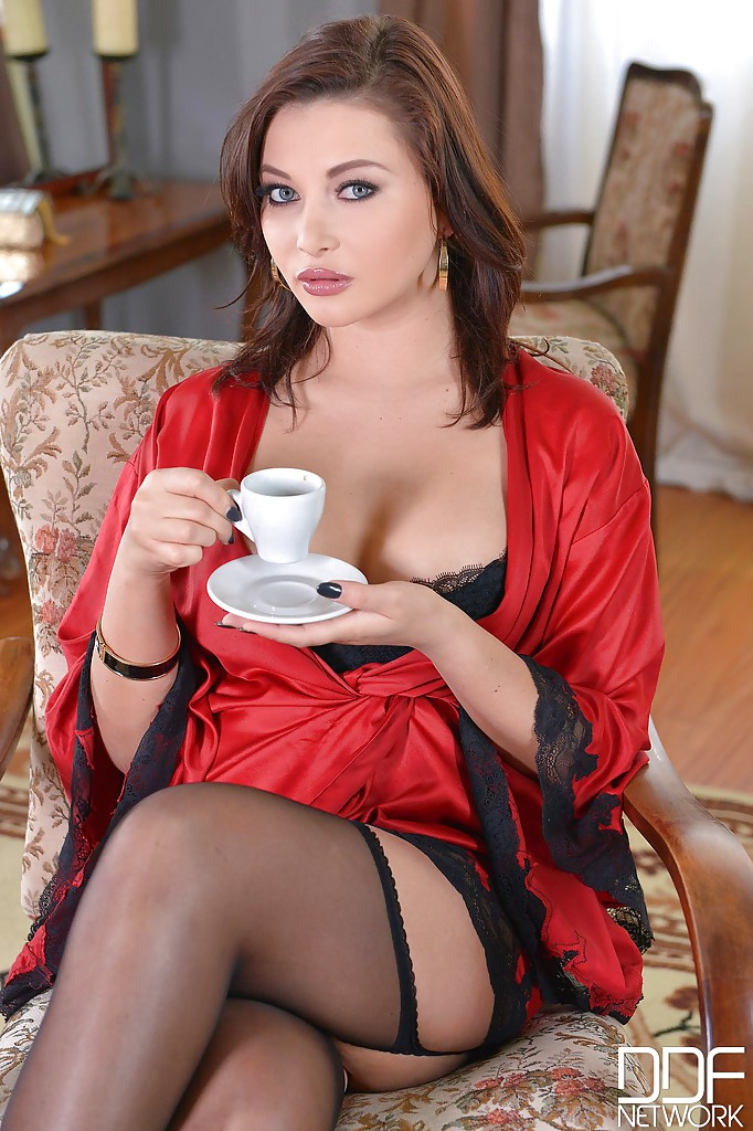 Anna polina feet stockings