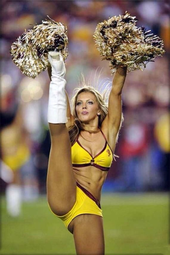Dirty nfl cheerleader wardrobe fail