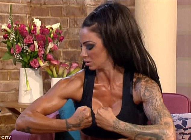 Female bodybuilder lesbian muscle women
