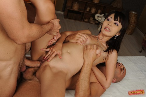 double Marica anal hase