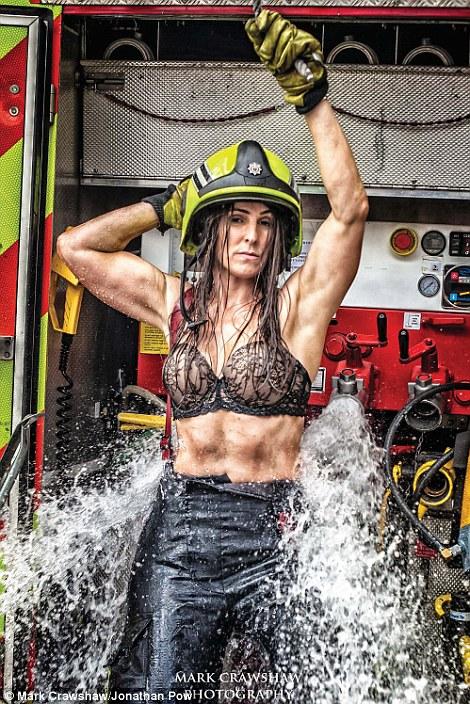 Nude women firefighters