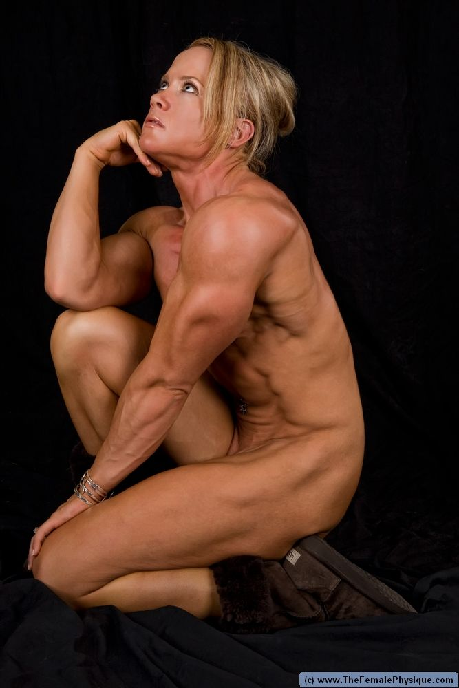 female girls Nude bodybuilder muscle