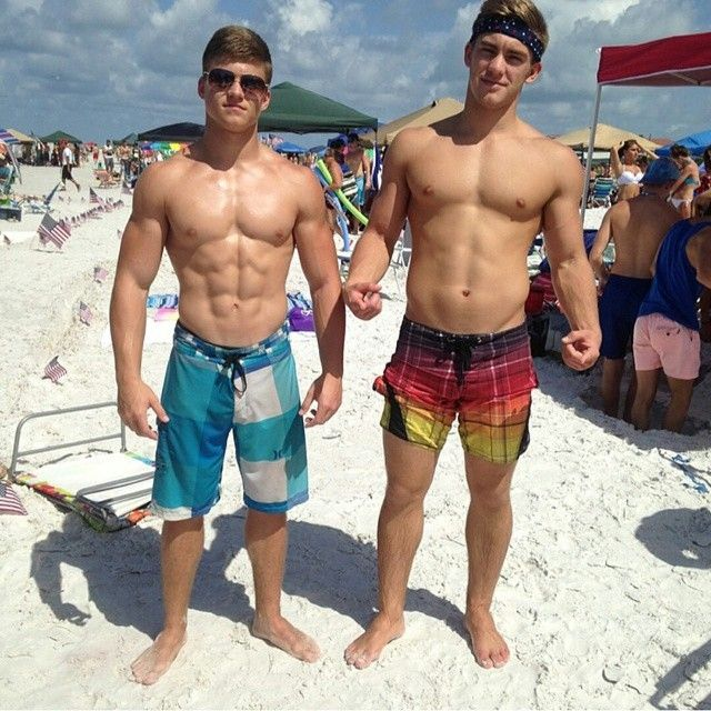 Spring break nude beach men