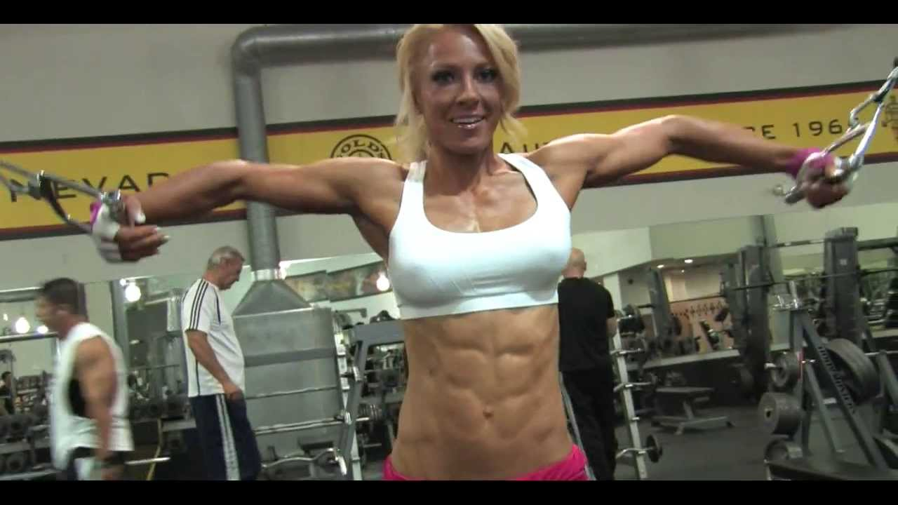 milf workout Blonde