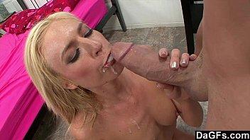 Blonde billy glide anal