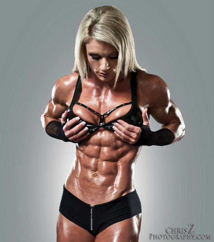 Ripped female bodybuilders nude