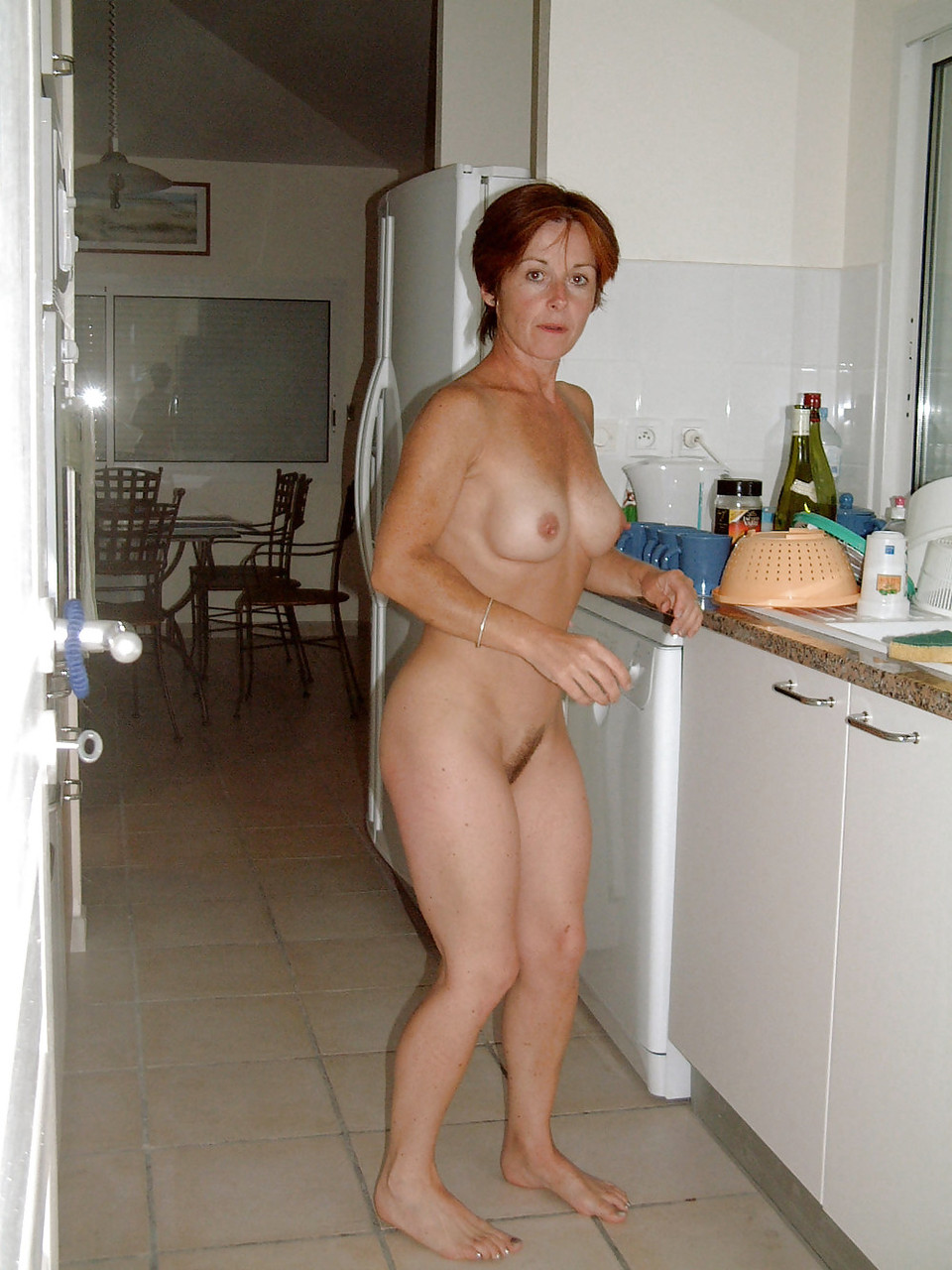 Naked moms at home